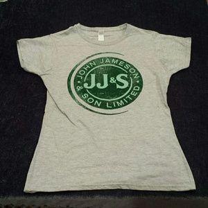 Jameson Irish Whiskey tee shirt size Medium